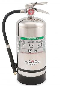 Fire suppression system Class K Fire Extinguisher