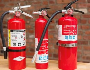 Sales and service of fire extinguishers